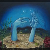Zara Kand: In the Realm of Blue and Black Exhibit (Los Angeles)