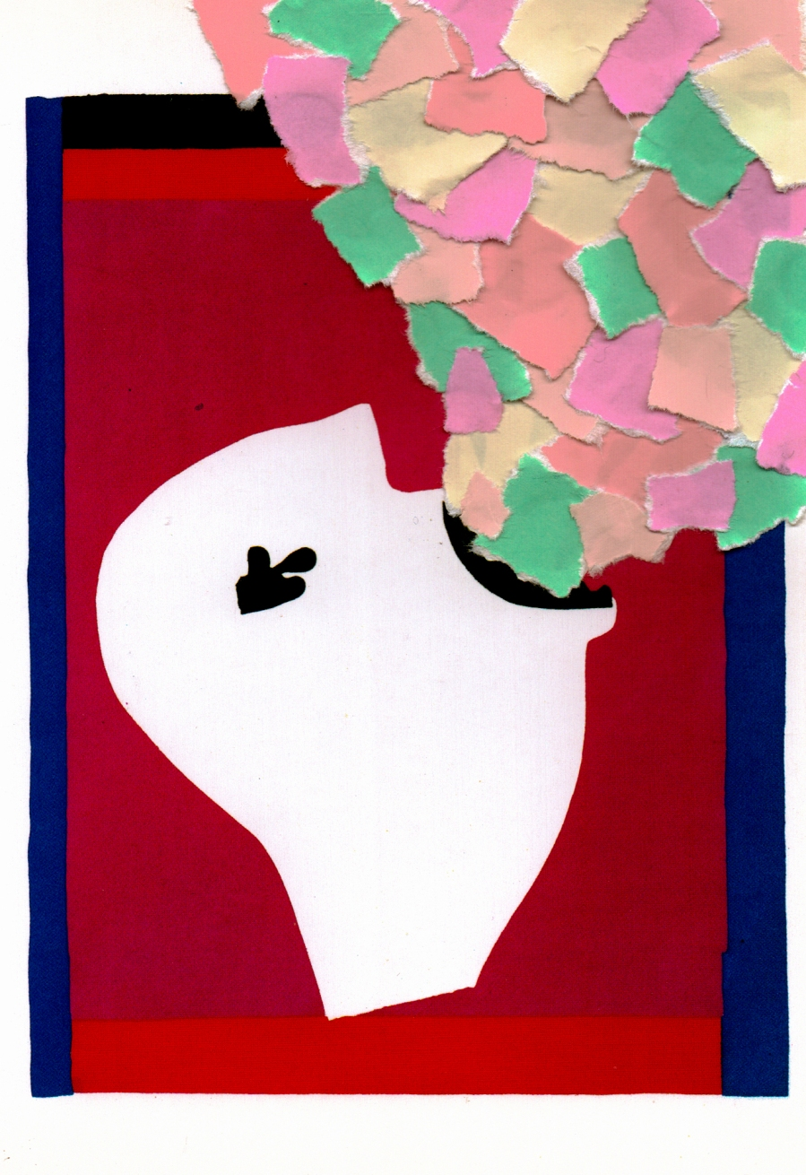 A Catastrophe Upon Delivery, No 17 of 93 - The Sword Swallower by Henri Matisse, retitled Nausea, collage