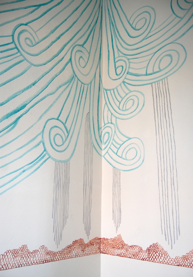 ZoeCohen Wall drawing