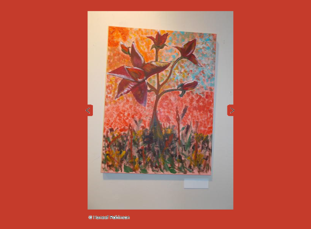 Flowers by Haneef Robinson