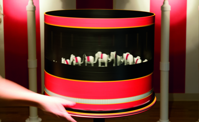 Circus Zoetrope by Nichola Kinch