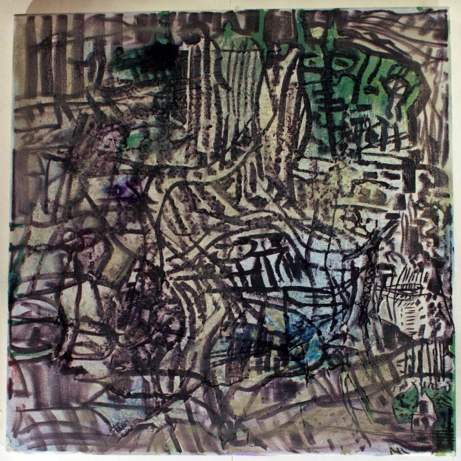 parenthesis-devin-asher-cohen-alien-architect-cohen-asher-mixed-media-on-canvas-20-x-20-2014
